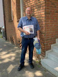 Michael Hülsmann unterwegs in Wahlkreis 22.